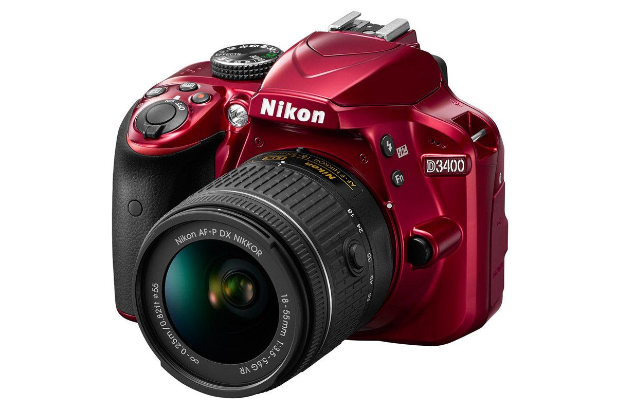 Nikon D3400 systemkamera 24 megapixel Snapbridge