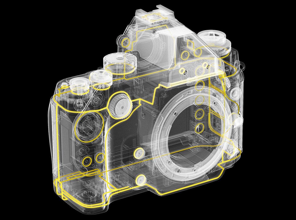 Nikon Df vädertätning