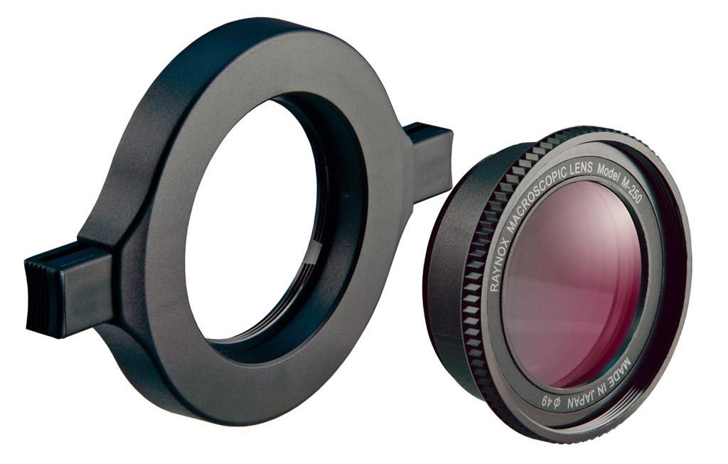Raynox DCR-250 makrolins 8 dioptrier close-up