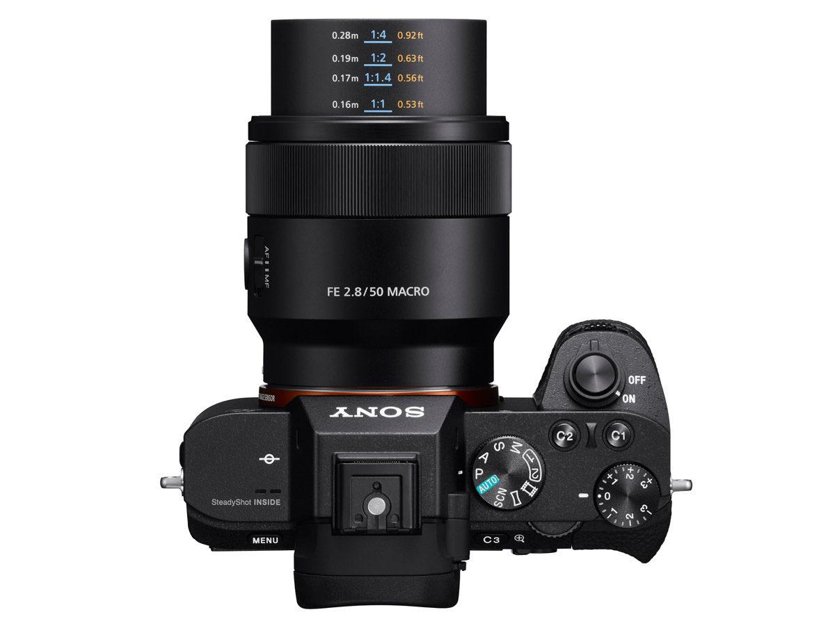 Sony FE 50 mm f/2,8 Macro makroobjektiv Sony fullformat