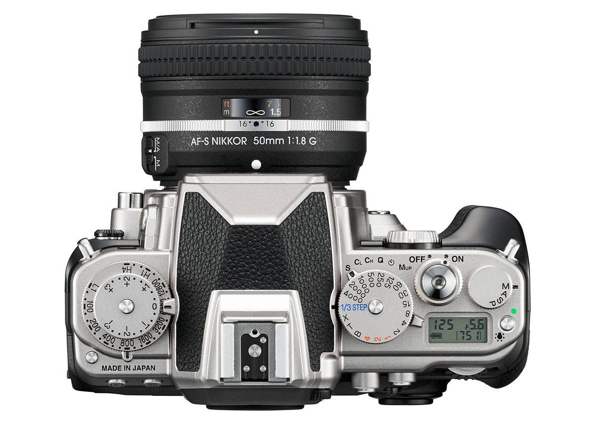 Test Nikon Df klassiska reglage