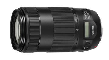 Canon EF 70-300 mm f/4-5,6 IS II USM – ny telezoom med display!