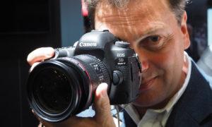 Vi provar Canon EOS 5D Mk IV och EOS M5 på Photokina