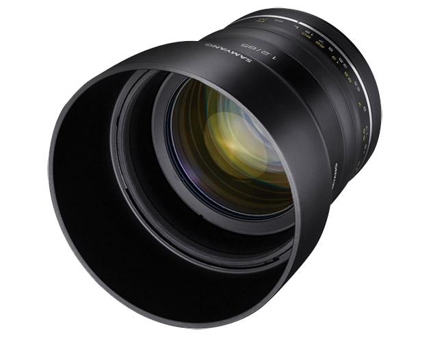 Samyang Premium MF 85mm f/1.2 porträtt-tele