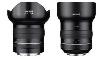 Samyang tar sina objektiv till ny nivå med Premium-serie