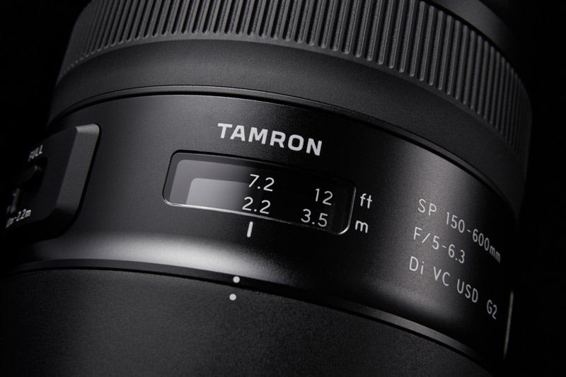 Tamron SP 150-600 mm G2 close focus
