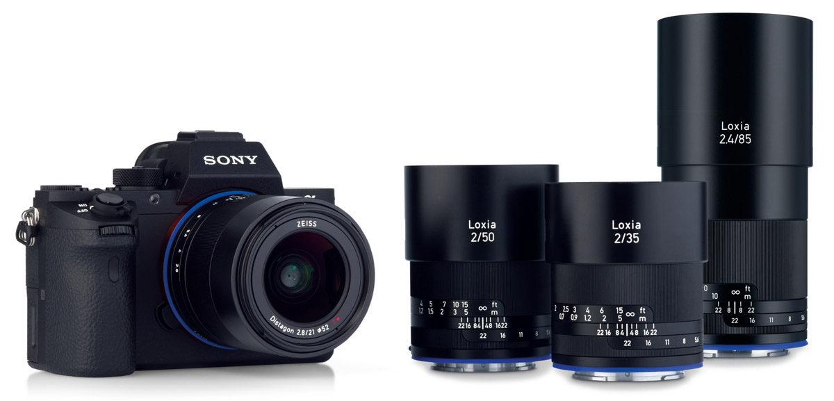 Zeiss Loxia objektivserie Sony fullformat E-fattning