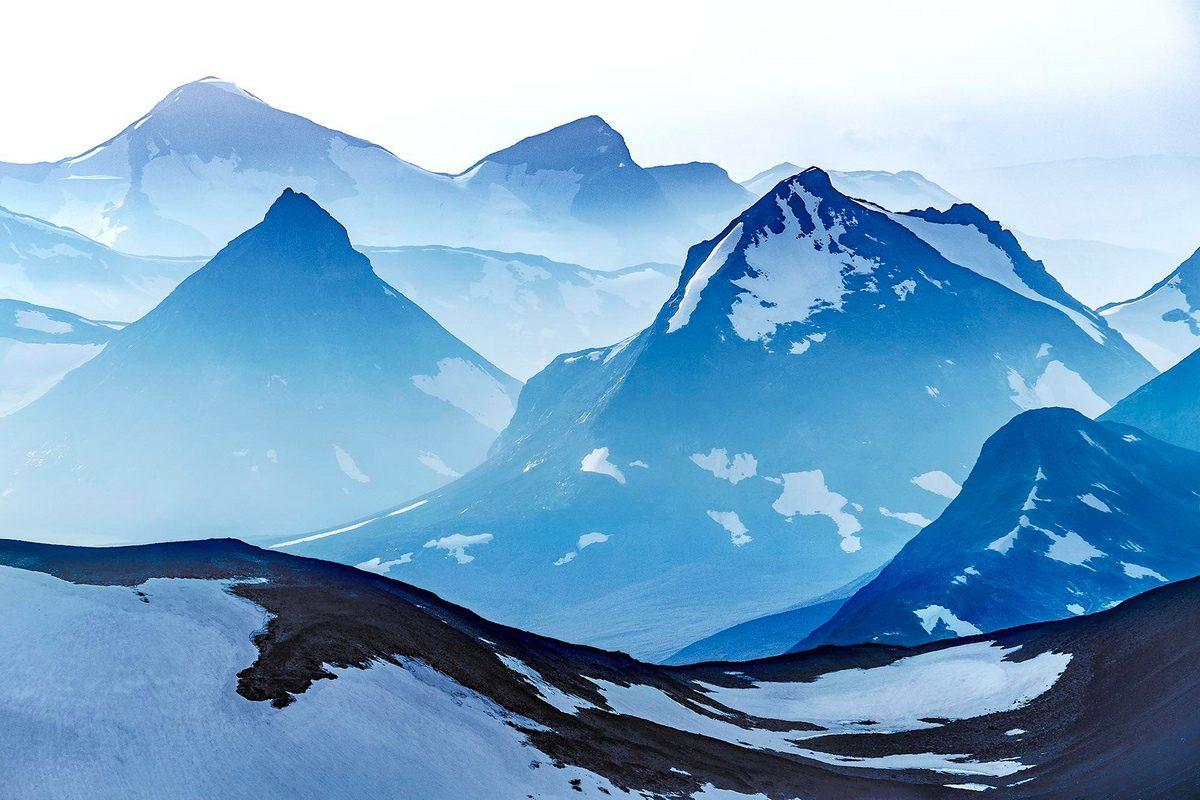 Claes Grundsten berget Kyrkja Jotunheimen Norge kamera Fujifilm X-T1