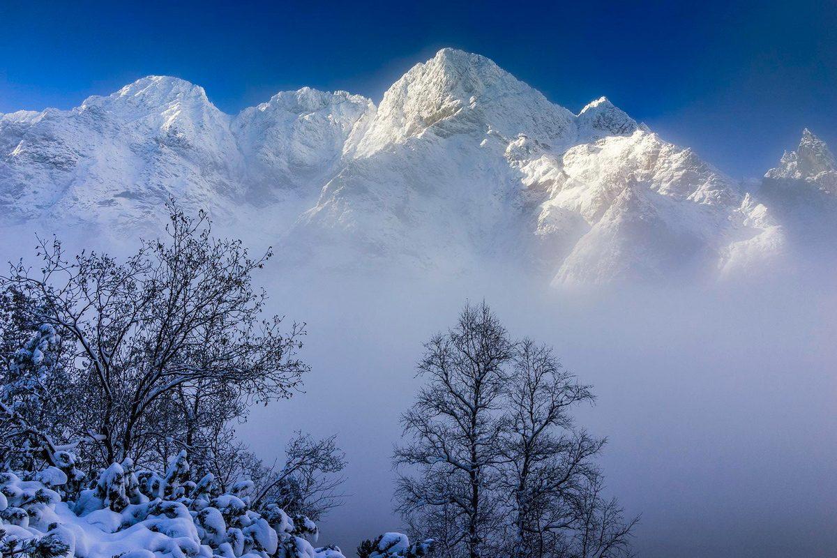 Berget Wielke bland Tartrabergen Polen foto Claes Grundsten naturfotograf