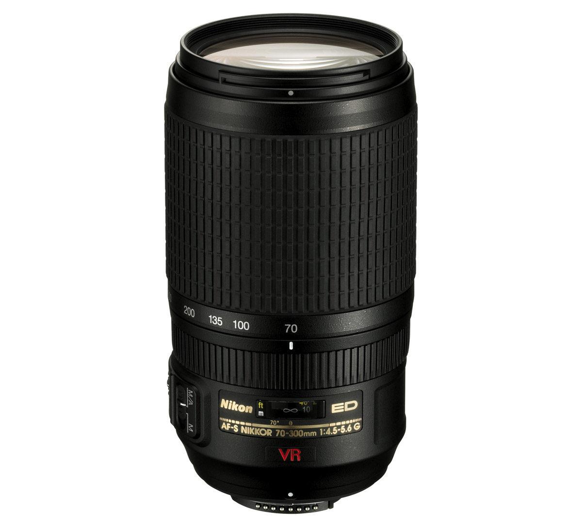 test Nikon AF-S 70-300 mm f/4,5-5,6 G IF-ED VR telezoom fullformat test