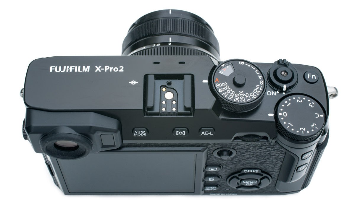 Fujifilm X-Pro2 test AF joystick