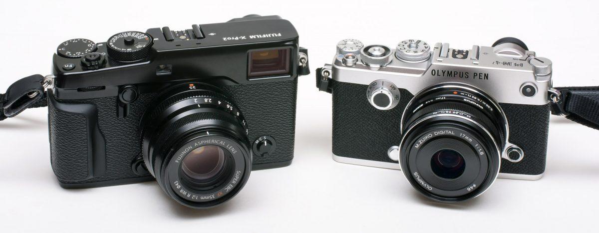 Fujifilm X-Pro2 vs Olympus Pen-F Christian Nilsson blogg www.objektivtest.se