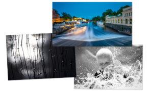 Tre vinnare i Objektivtest.se's Facebook-utmaning: Vatten i rörelse