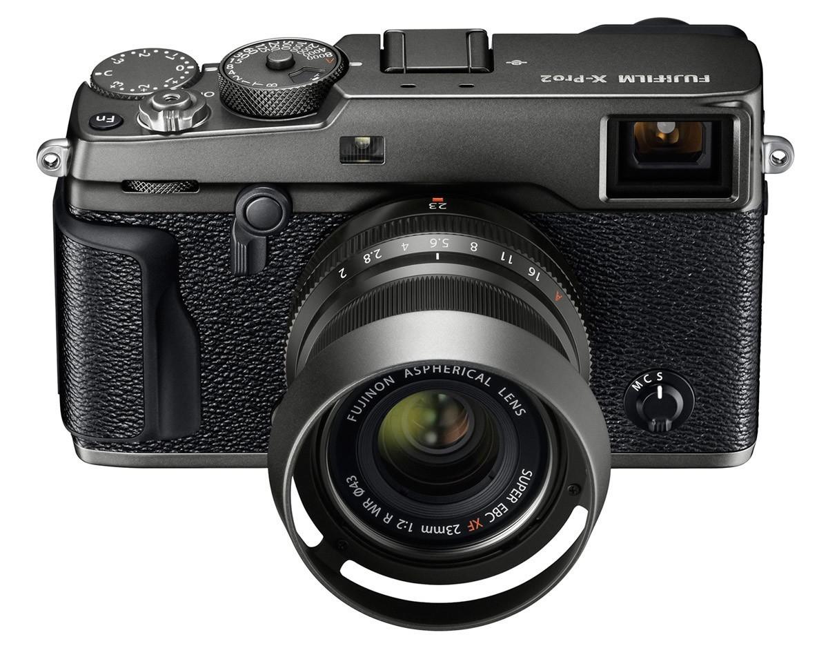 Fujifilm X-Pro2 Graphite Edition med Fujinon XF 23 mm f/2 R WR
