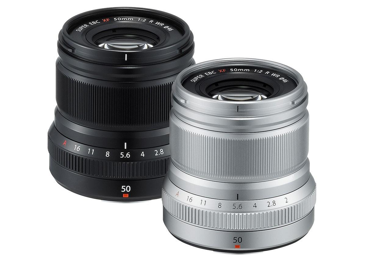 Fujinon XF 50 mm F/2 R WR porträttobjektiv
