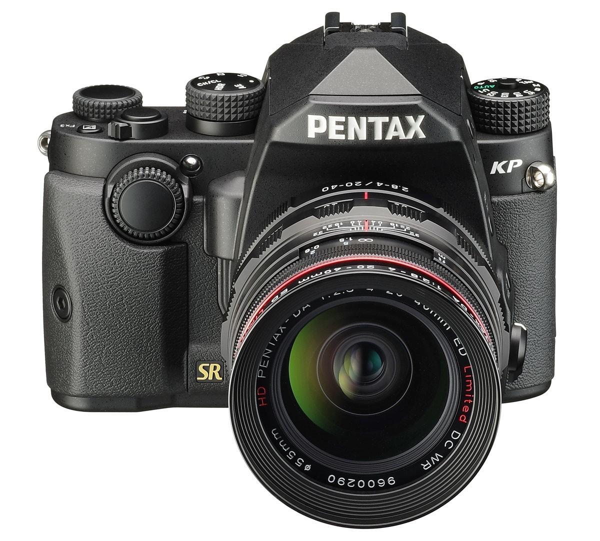 Pentax KP systemkamera med 24 megapixel APS-C-sensor och ISO 819 200