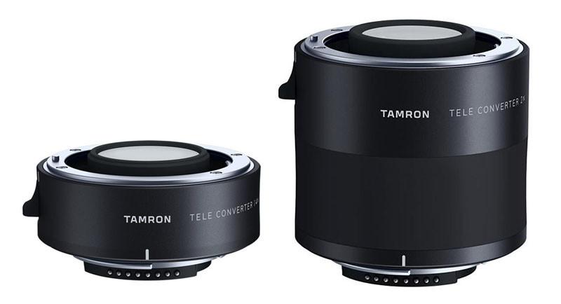 Tamron TX-X14 1,4x telekonverter samt Tamron TC-X20 2x telekonverter