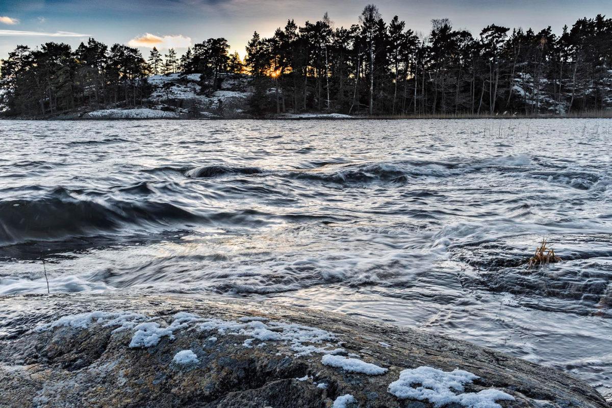 naturfoto med omvänt graduerat gråfilter foto Claes Grundsten blogg på Objektivtest.se
