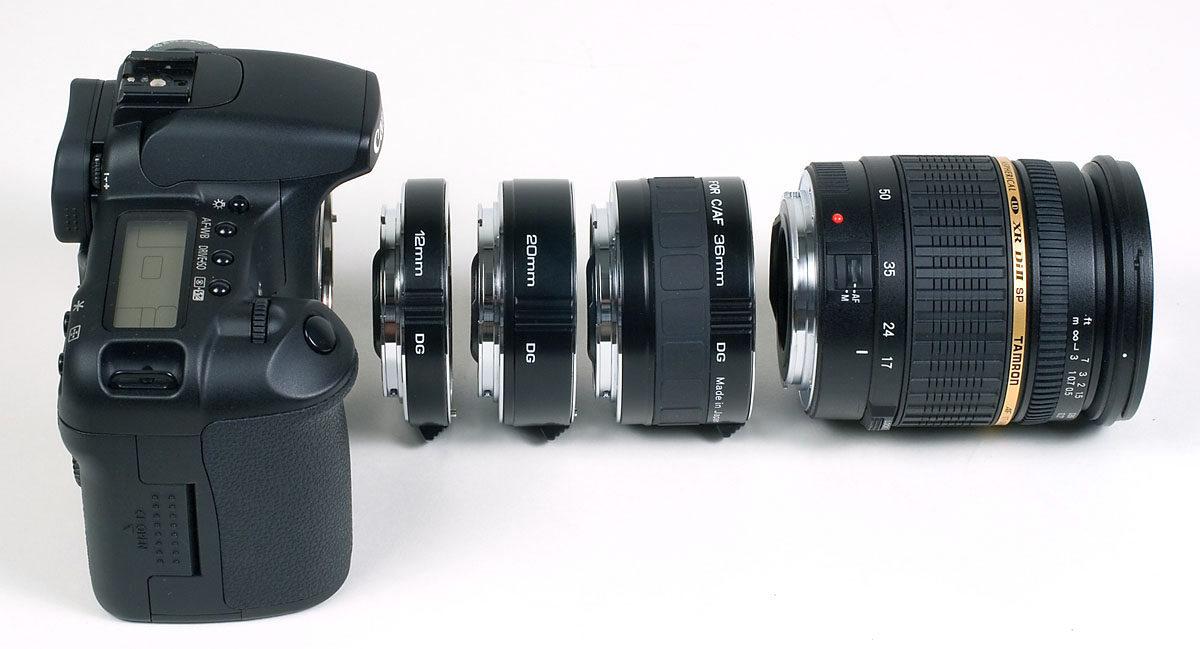 Kenko mellanringar Canon EOS