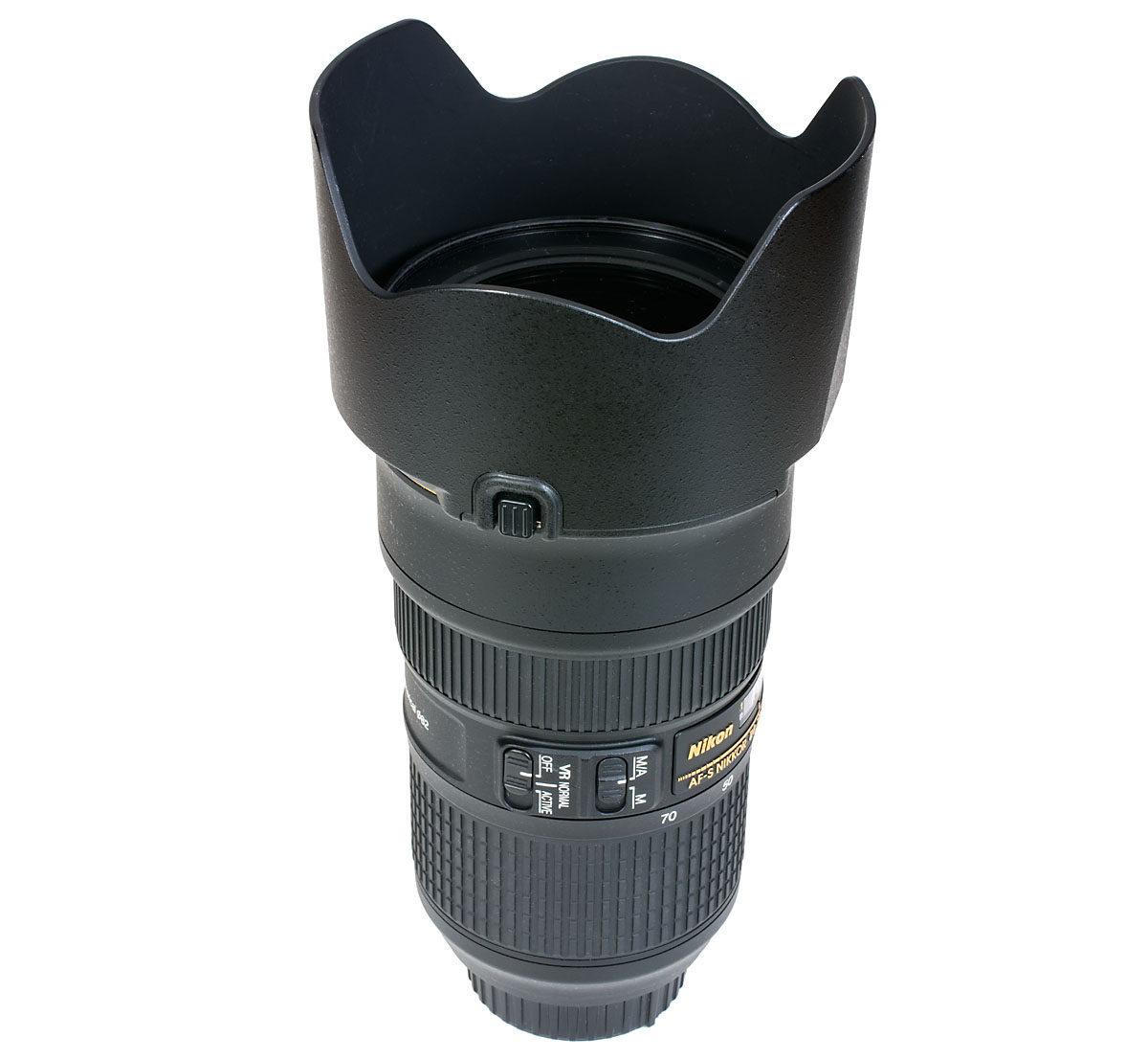 Nikon Nikkor AF-S 24-70mm f/2.8 E ED VR motljusskydd