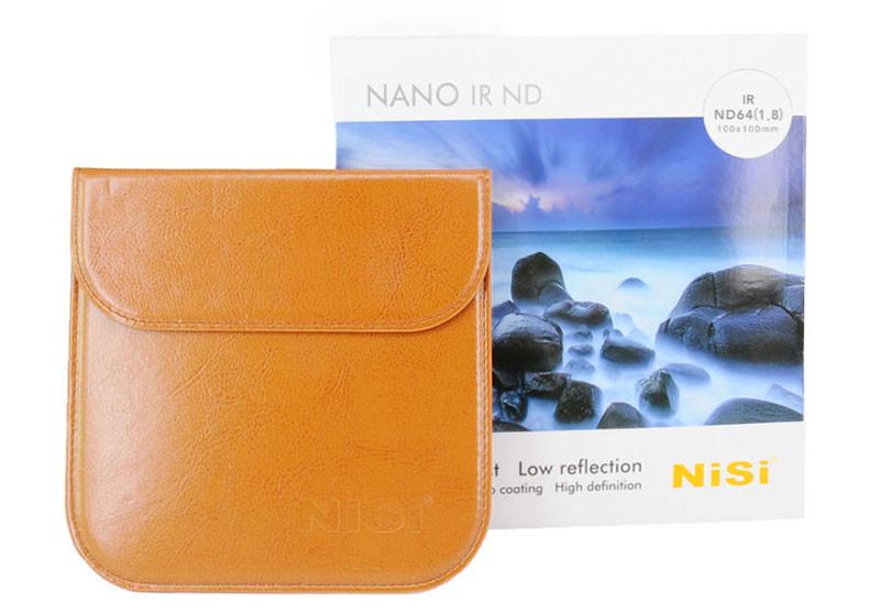 ND gråfilter NiSi Nano IR ND500 ND-filter 9 steg