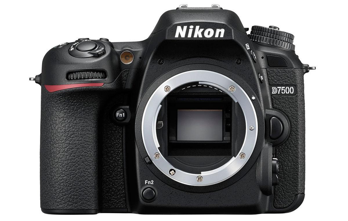 Nikon kamera med 20 megapixel Nikon D7500