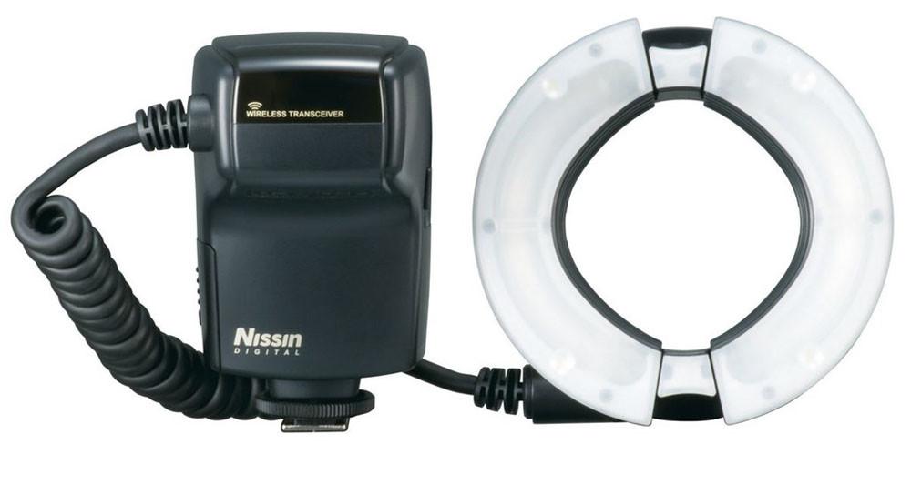 Nissin MF 18 Macro makroblixt ringblixt för makrofotografering
