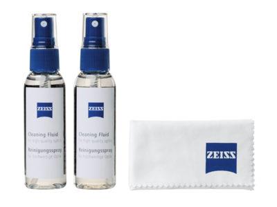 Zeiss rengöringsvätska och mikrofiberduk
