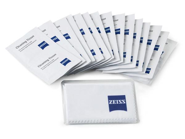 Zeiss rengöringsservetter och microfiberduk