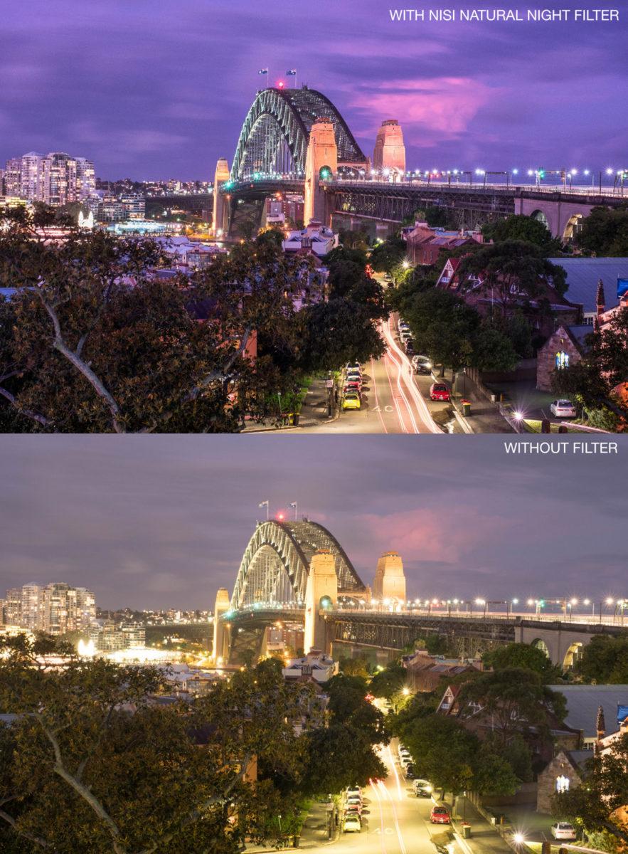 NiSi Natural Night filter för nattfotografering och astrofotografering