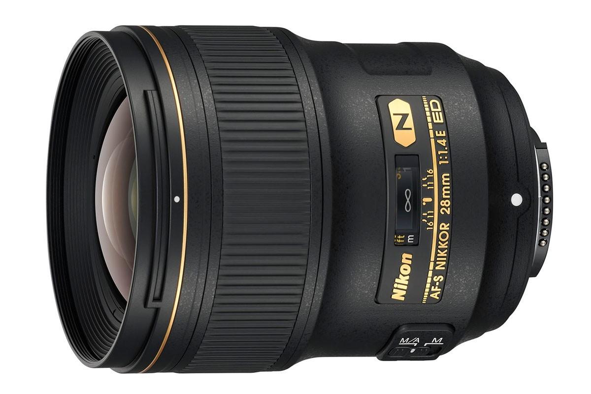 Nikon AF-S 28mm f/1.4 E ED vidvinkelobjektiv