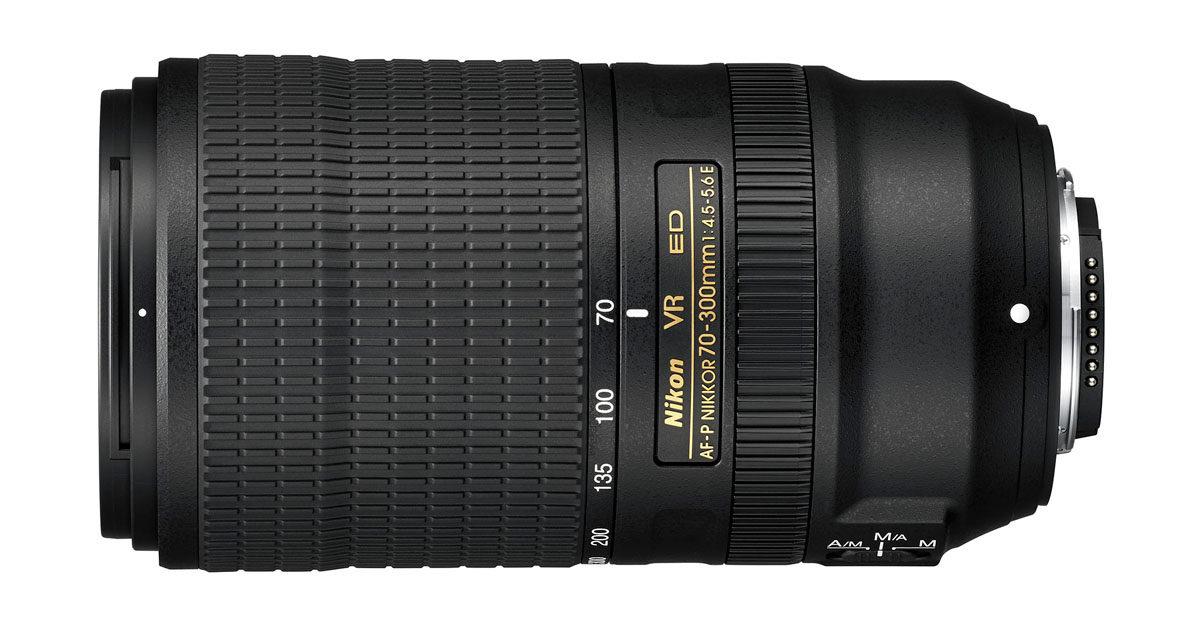 Nikon AF-P 70-300 mm f/4.5-5.6 E ED VR