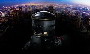 Nikon lanserar 8-15 mm fisheye-zoom för fullformat!