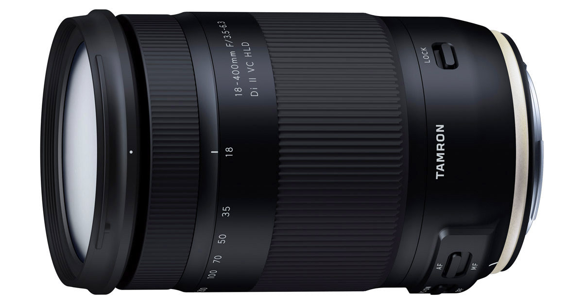 Tamron 18-400mm ultrazoom APS-C