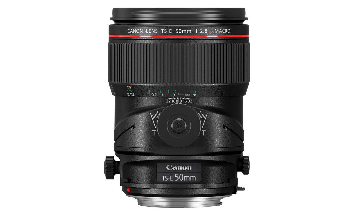 Canon TS-E 50mm f/2.8 L Macro tilt/shift objektiv