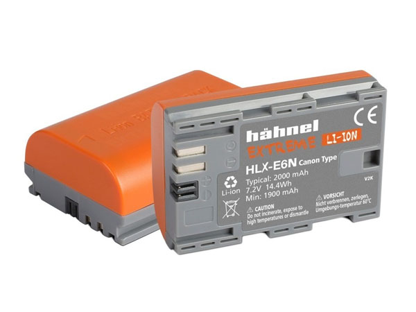 Hähnel Extreme kamerabatteri motsv. Canon LP-E6 / LP-E6N