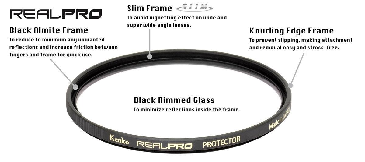Kenko Realpro Protector skyddsfilter 55 mm