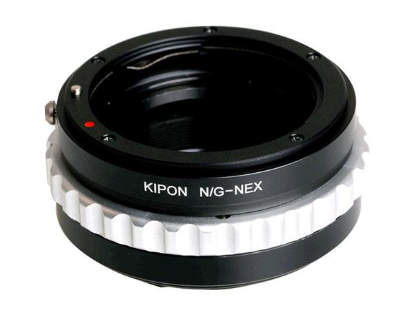 Adapter Nikon G objektiv till Sony E-fattning (Sony NEX)