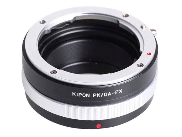 Adapter Pentax DA objektiv till Fujifilm X-fattning