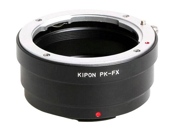 Adapter Pentax K objektiv till Fujifilm X-fattning