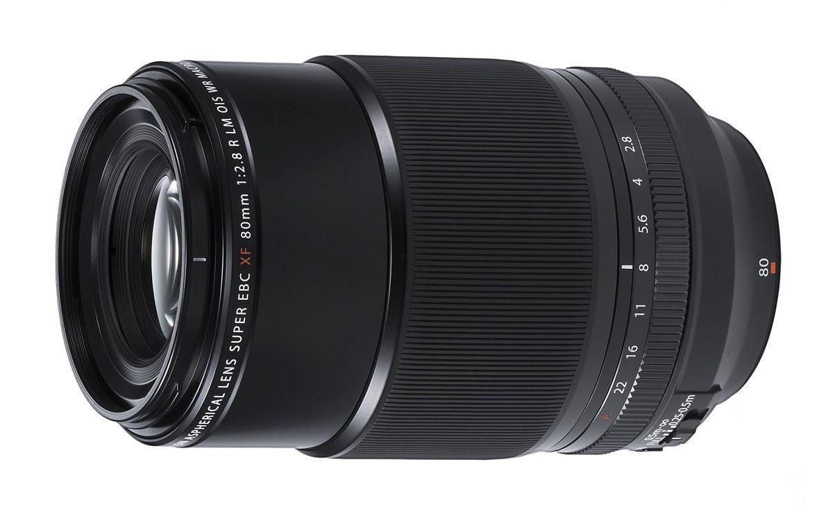 Fujifilm Fujinon XF 80 mm f/2.8 LM OIS WR Macro makroobjektiv skala 1:1