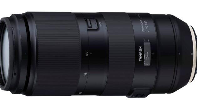 Tamron utvecklar 100-400 mm telezoom för fullformat
