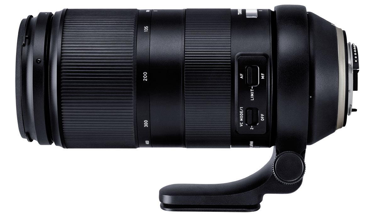 Tamron 100-400mm f/4.5-6.3 Di VC USD telezoom stativfäste