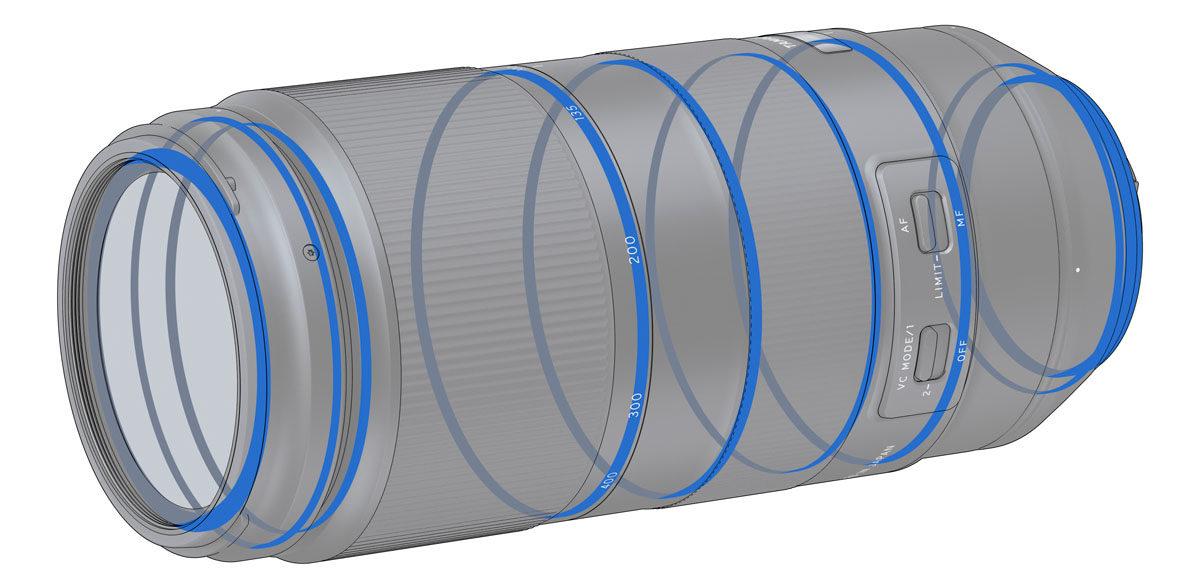 Tamron 100-400 telezoom väderskyddad