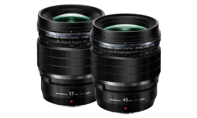 Olympus satsar på bokeh med 17mm f/1.2 och 45mm f/1.2