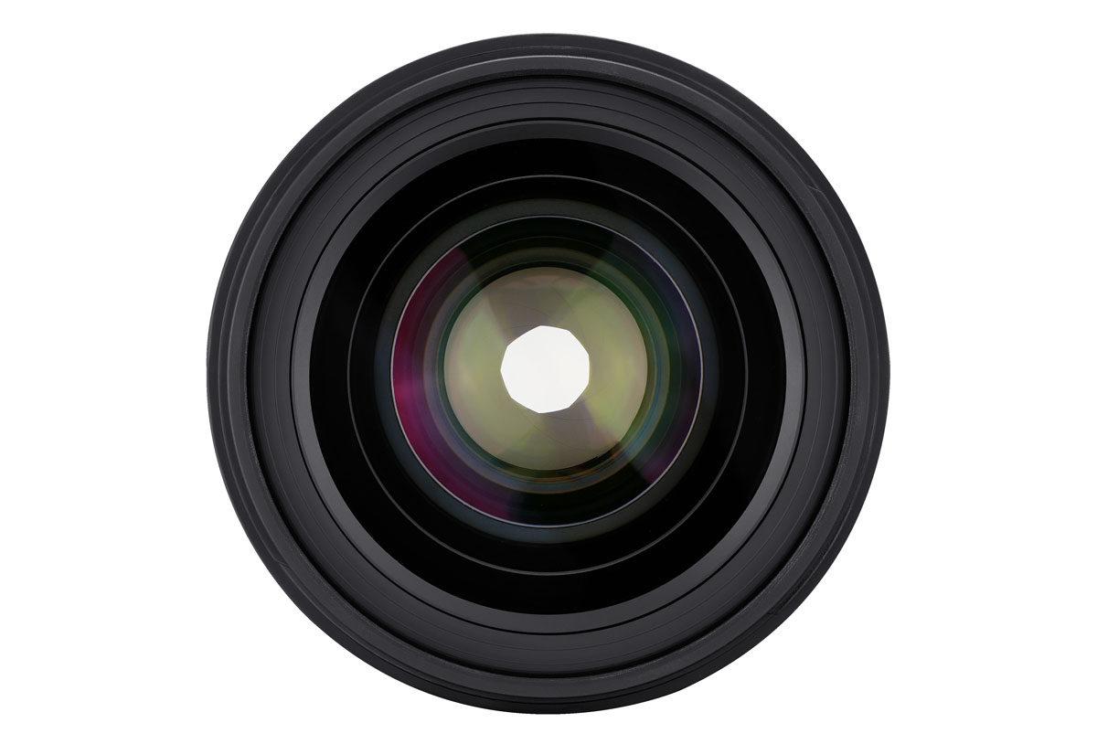 Samyang AF 35mm f/1.4 FE bländare med nio lameller