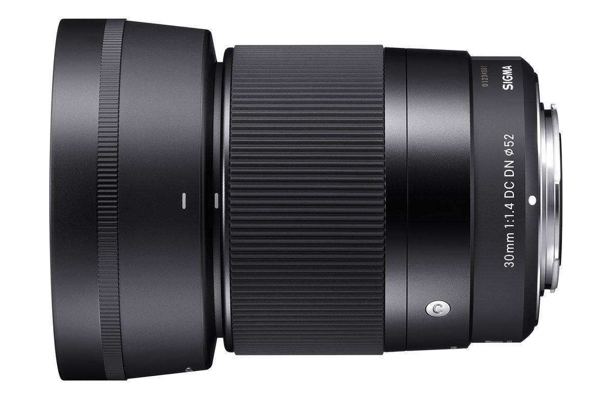 Sigma 30 mm f/1.4 DC DN Contemporary ljusstarkt vidvinkelobjektiv
