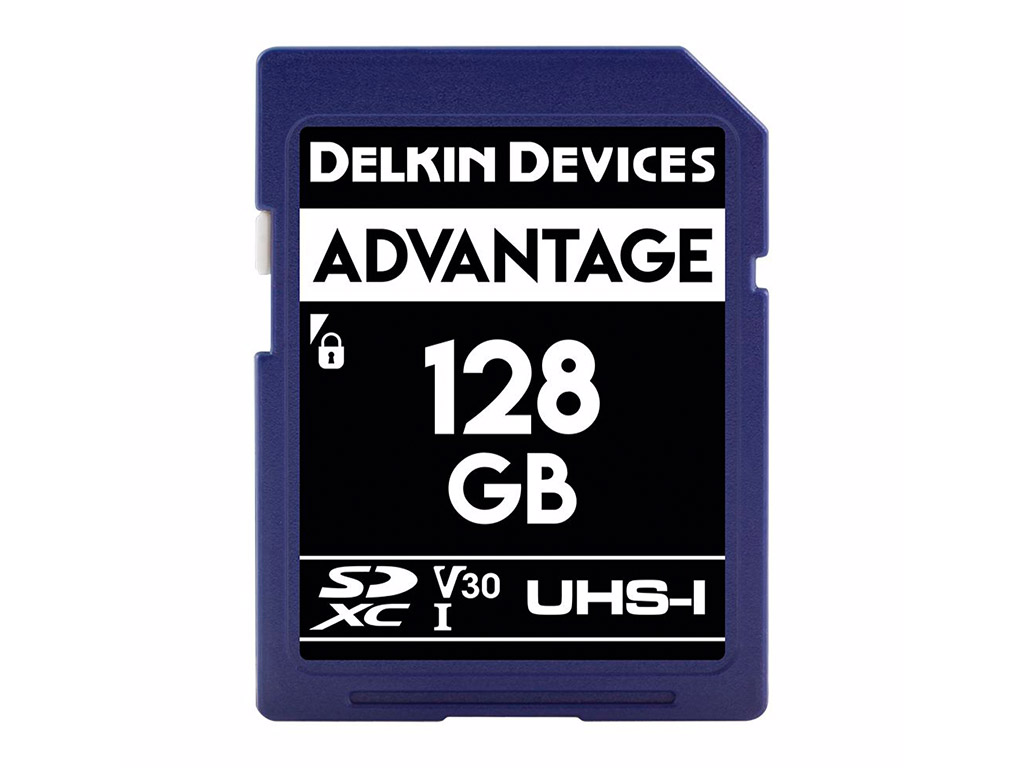 Delkin 128 GB SDXC Advantage 660X UHS-I V30