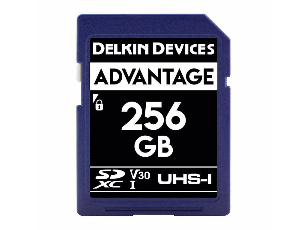 Delkin 256 GB SDXC Advantage 660X UHS-I V30