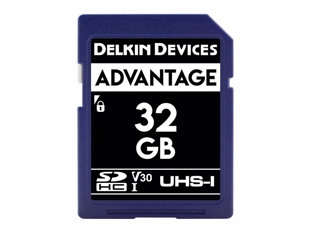 Delkin 32 GB SDHC Advantage 660X UHS-I V30